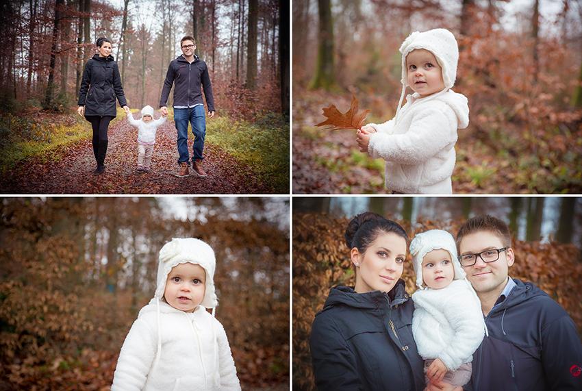 Familienfotos im Wald in Rheinfelden Fotograf Nadja Osieka