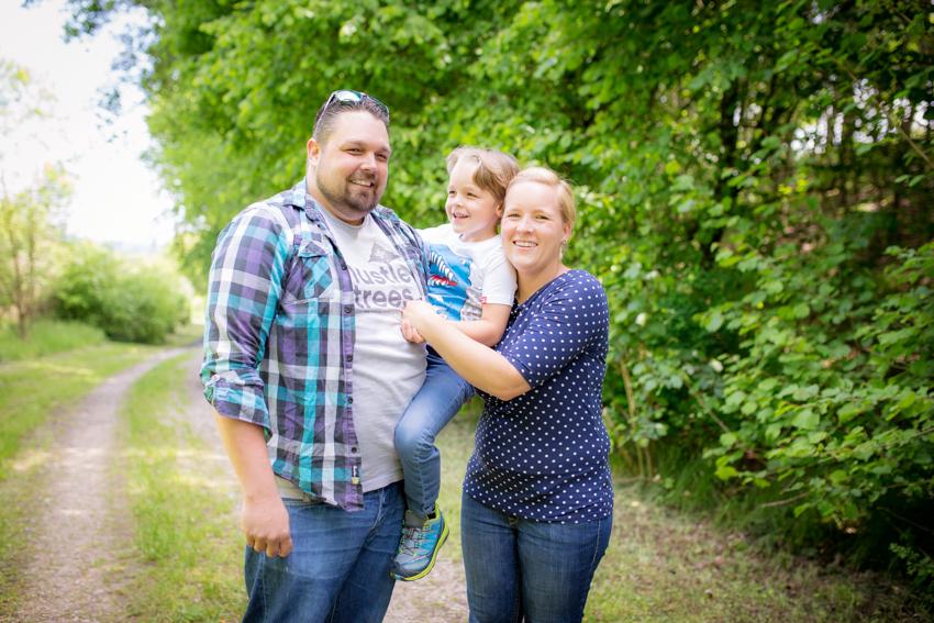 Familienshooting in Sueddeutschland