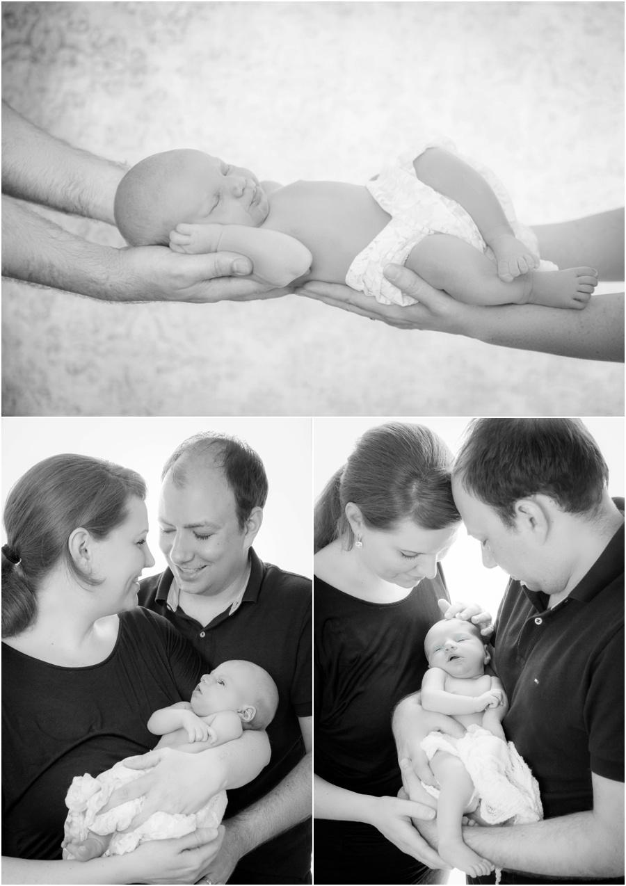 Familienbild Babyfotoshooting