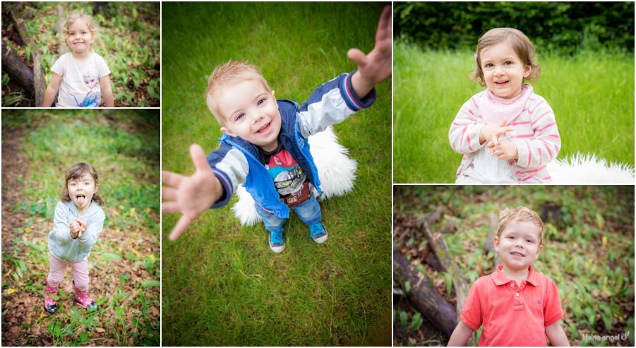 Kindergartenfotografie Outdoor